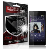 Skque® Premium Ballistic Slim Tempered Glass Film Screen Protector for Sony Xperia Z2(9H Hardness 0.26mm Thin)