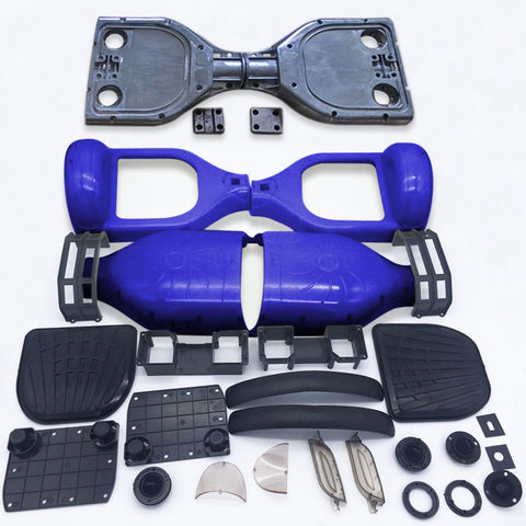 "Scooter Assembly Kit, Skque® 6.5"" Original Self Balancing Electronic Scooter Frame and Casing Assembly, Blue"