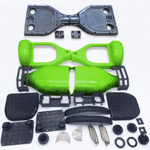 "Scooter Assembly Kit, Skque® 6.5"" Original Self Balancing Electronic Scooter Frame and Casing Assembly, Green"