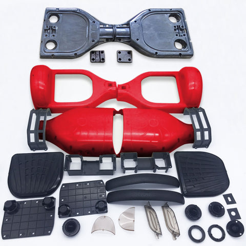 "Scooter Assembly Kit, Skque® 6.5"" Original Self Balancing Electronic Scooter Frame and Casing Assembly, Red"