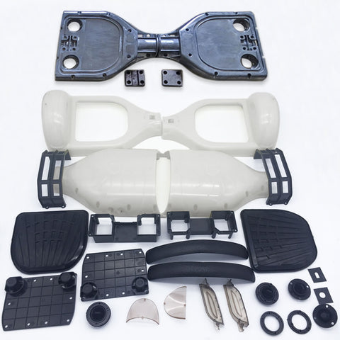 "Scooter Assembly Kit, Skque® 6.5"" Original Self Balancing Electronic Scooter Frame and Casing Assembly, White"