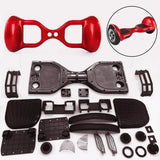 "Scooter Assembly Kit, Skque® 10"" Self Balancing Electronic Scooter Frame and Casing Assembly, Red"
