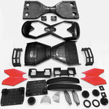 "Scooter Assembly Kit, Skque® 6.5"" New Self Balancing Electronic Scooter Frame and Casing Assembly, Black"