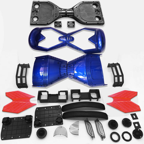"Scooter Assembly Kit, Skque® 6.5"" New Self Balancing Electronic Scooter Frame and Casing Assembly, Blue"