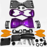 "Scooter Assembly Kit, Skque® 6.5"" New Self Balancing Electronic Scooter Frame and Casing Assembly, Purple"