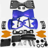 "Scooter Assembly Kit, Skque® 6.5"" New Self Balancing Electronic Scooter Side LED Frame and Casing Assembly, Blue"