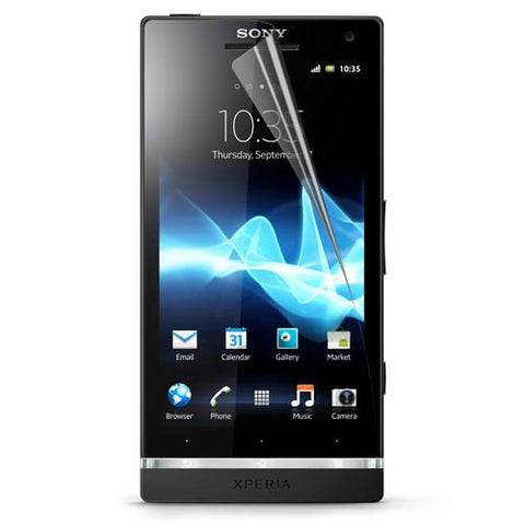 Skque Clear Screen Protector for Sony Ericsson Xperia S/LT26i