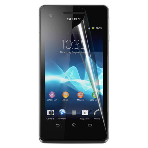 Skque Anti Scratch Screen Protector for Sony Xperia V