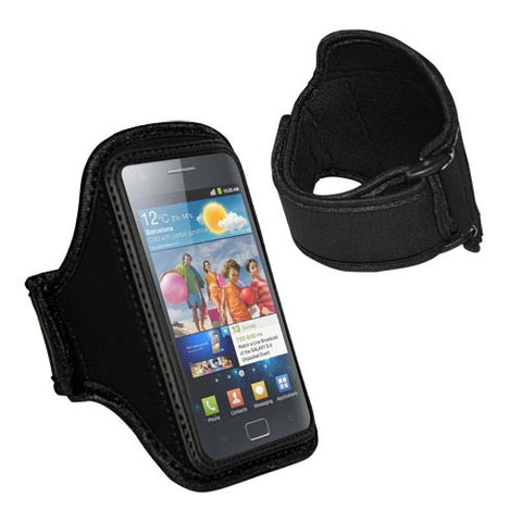 Skque Black Universal Neoprene Armband For HTC,Samsung,Blackberry Mobile Phone-best armband for sports,hike,climb
