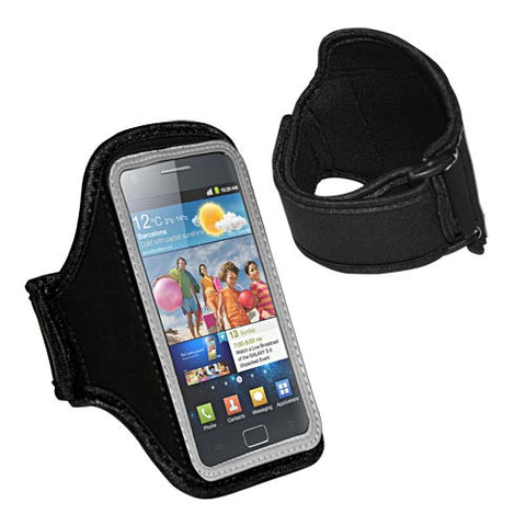 Skque Gray Universal Neoprene Armband for HTC,Samsung,Blackberry Mobile Phone