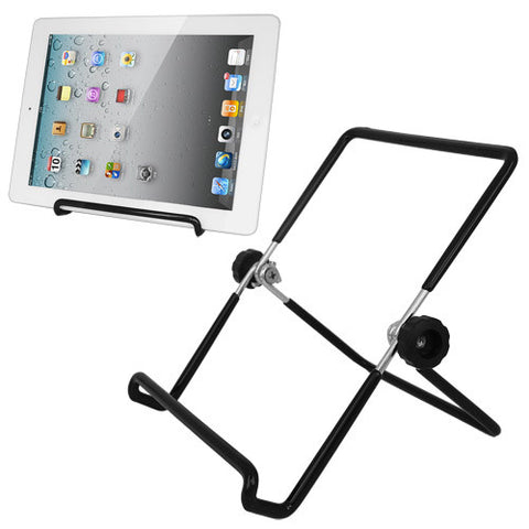 Skque Universal Multi Angle Foldable Stand for Tablets, Black