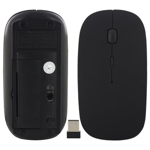 Skque 2.4G Wireless Optical Mouse with USB Dongle for All Laptop