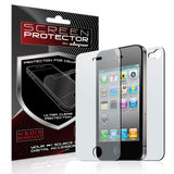 Skque Apple iPhone 4G Dual Clear Screen protector