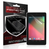 Asus Google Nexus 7 Tablet Anti Scratch Screen Protector