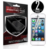 Skque 2PCs Privacy Screen Protector for Apple iPhone 5 5G 5S 5C