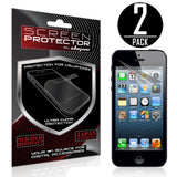 Skque 2PCs Anti Glare Screen Protector for Apple iPhone 5