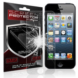 Skque  Tempered Glass Screen Protector Cover Film For Apple iPhone 5/5S