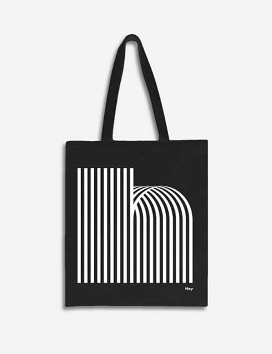 Black or Light grey Tote bag