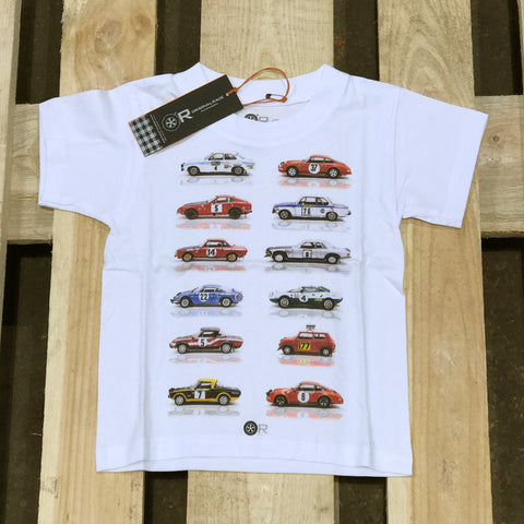 Various sports car t-shirt - kids