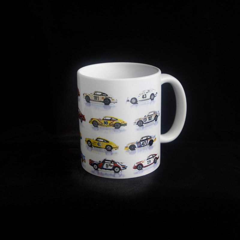 Coffee mug - racing