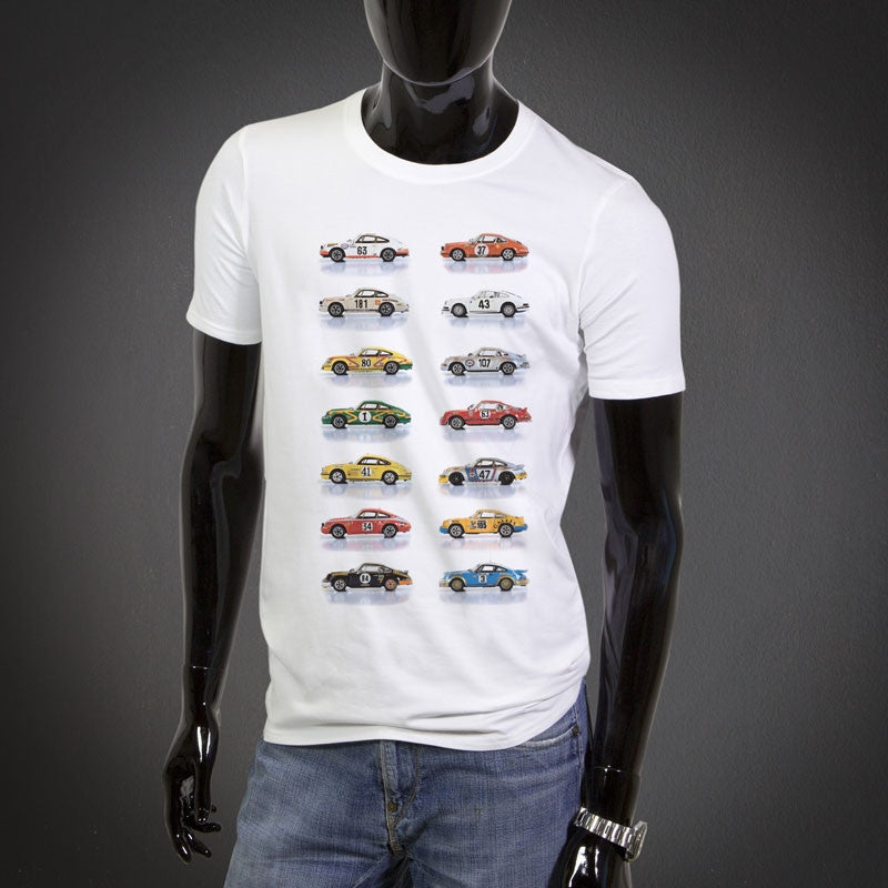T-shirt with racing collection