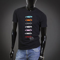 'Color graphics' retro t-shirt