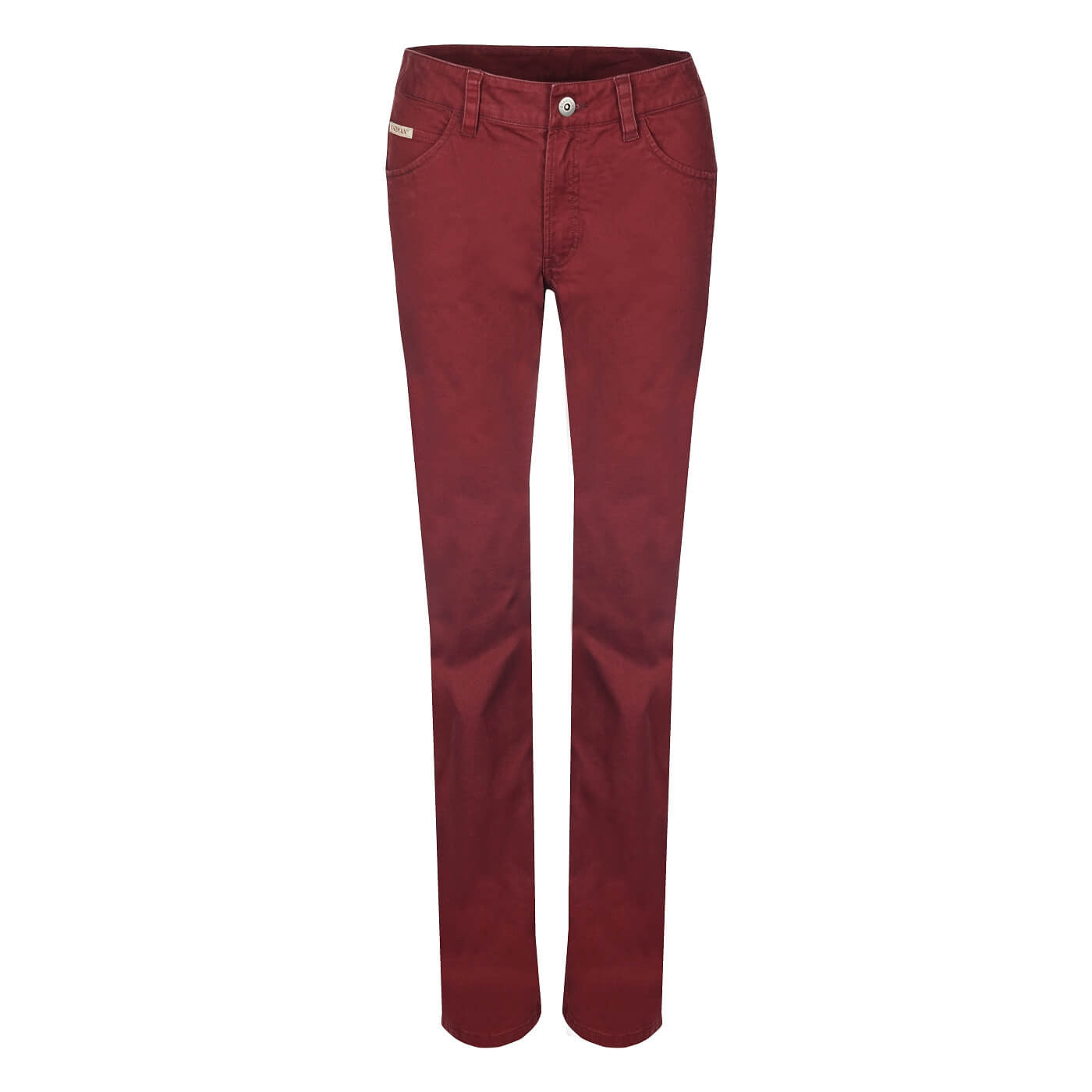 BUSHMANSHOP FLORESTA WOMEN'S RED GREY JEANS PANTS