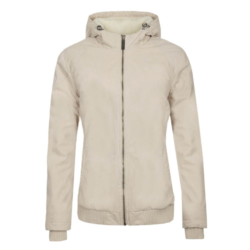 BUSHMANSHOP BAKOLA WOMEN'S WHITE WINTER JACKET