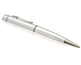 Executive Ballpoint Pen with 16GB Flash Memory (Metallic Silver)