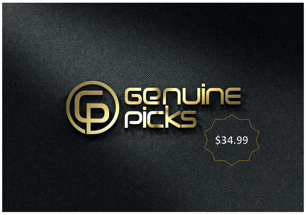 34.99$ Gift Card from Genuine Picks
