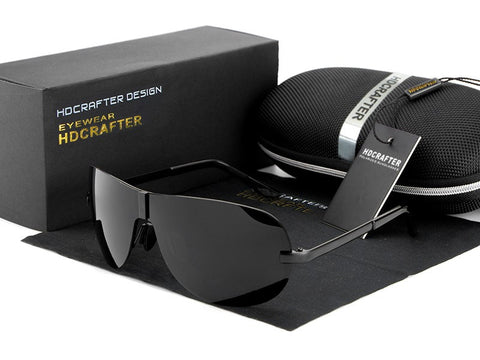 HDCRAFTER Fashion Polarized Outdoor Driving Sunglasses for Men