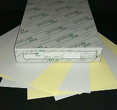 Giroform NCR Paper A4 2 Part Sets - White and Pink, Yellow, Green or Blue