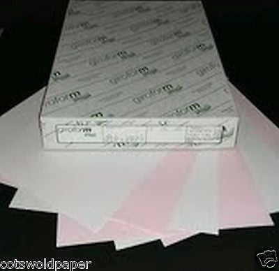 Giroform Excel A4 NCR 2 Part Sets x 250 sheets of - White and Pink - INKJET LASER DIGITAL