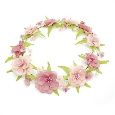 Summer accessories floral garlands