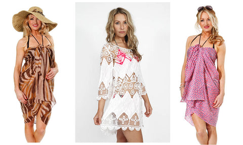 Summer holiday kaftans