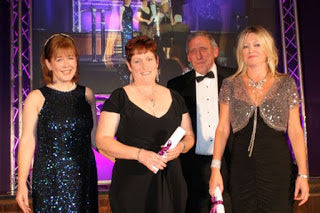 Karen Hutchings Finilists 'Woman of the Year' Swansea Bay Awards