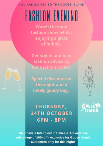 Exclusive Fashion Event at our Mumbles store