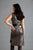 Gunmetal Foil dress