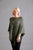 Sage Green Star Poncho