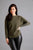 Diamanté Shoulder Jumper khaki