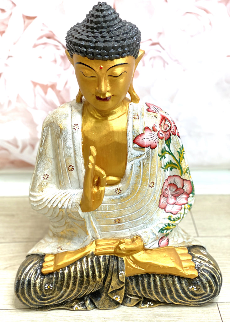 50cm Painted Gold Buddha