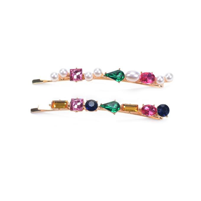 Double Gem Hairslide