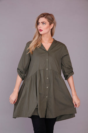 goose island ladies smock tunic top