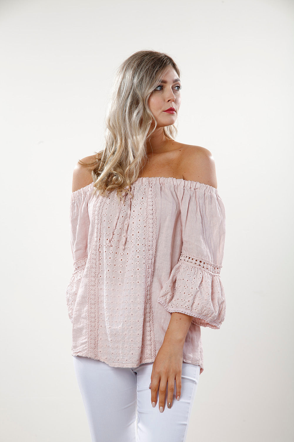 Pink Lace Gypsy Top - Goose Island
