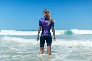 WOMEN'S APACHE PURPLE ELITE TRI SUIT