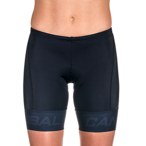 WOMEN'S BLACK ULTRA TRI SHORTS