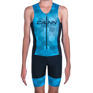 JUNIOR TRI SUIT HEXHAM BLUE
