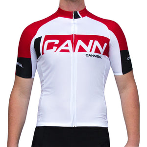 CANN WHITE/RED JERSEY