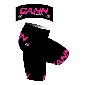 CANN Banded Leg Cycle Shorts Women's Black/Pink