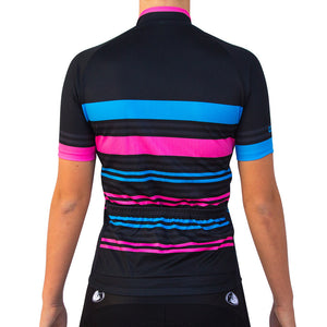 WOMEN'S CANDY STRIPE JERSEY
